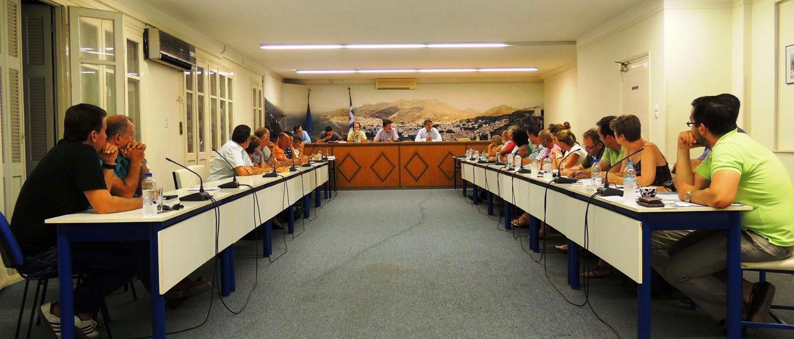 Σύγκλιση Δημοτικού Συμβουλίου Σάμου σήμερα Δευτέρα.