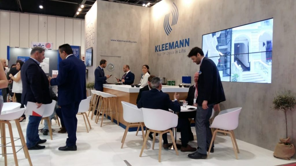 """KLEEMANN: Συμμετείχε στη """"Liftex International 2019"""" – Η τρίτη παρουσία της, σε μία από τις κορυφαίες διεθνείς εκθέσεις ανελκυστήρων"""