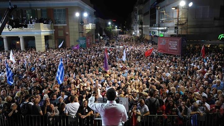Αλ. Τσίπρας: Η Αριστερά έγινε ένα με τον κόσμο που στήριξε την Αλλαγή το '81