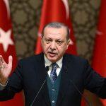 Ερντογάν: Να το σκεφτούν πολύ καλά οι ΗΠΑ πριν μας επιβάλλουν κυρώσεις