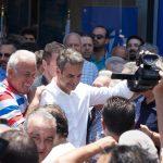 Κυρ. Μητσοτάκης: Στόχος να βαφτεί όλη η Κρήτη γαλάζια