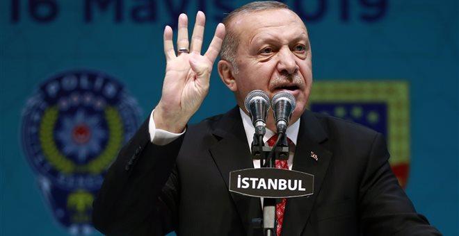 Ερντογάν:Οι ελληνοκύπριοι δεν θα μας συλλάβουν,θα γλείφουν μόνο τις παλάμες τους