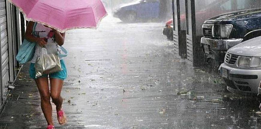 Επιδείνωση του καιρού με ισχυρές βροχές και καταιγίδες από το απόγευμα
