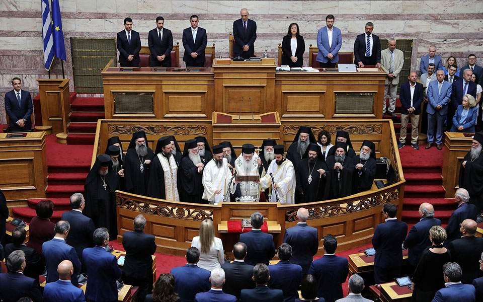 Ορκίστηκε η νέα Βουλή – Δείτε φωτογραφίες