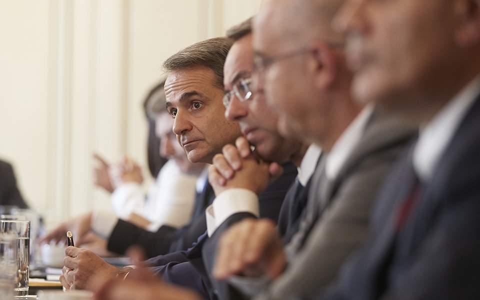 Υπουργικό Συμβούλιο: Μείωση του ΕΝΦΙΑ, αλλαγές στη φορολογία και αποφάσεις για την ηγεσία της Δικαιοσύνης