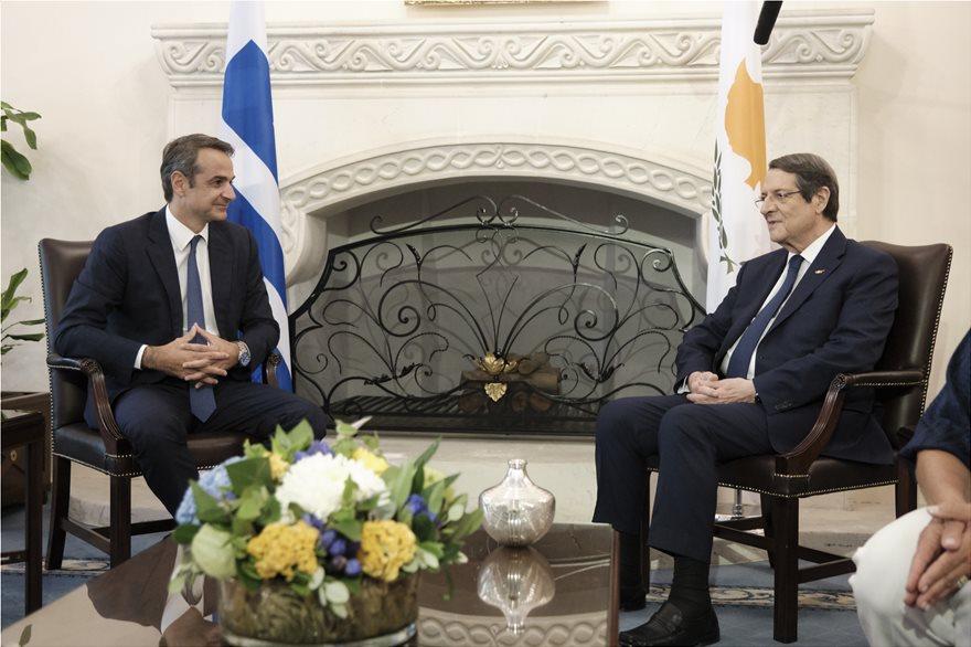 Μητσοτάκης: Αρραγές μέτωπο Ελλάδας – Κύπρου απέναντι στις τουρκικές προκλήσεις
