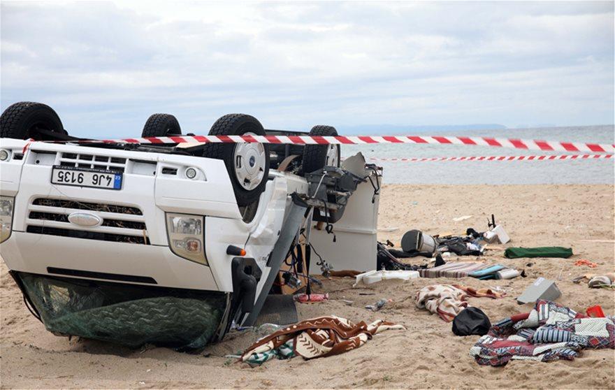 Στους 7 οι νεκροί στη Χαλκιδική – Eντοπίστηκε σορός στη θάλασσα