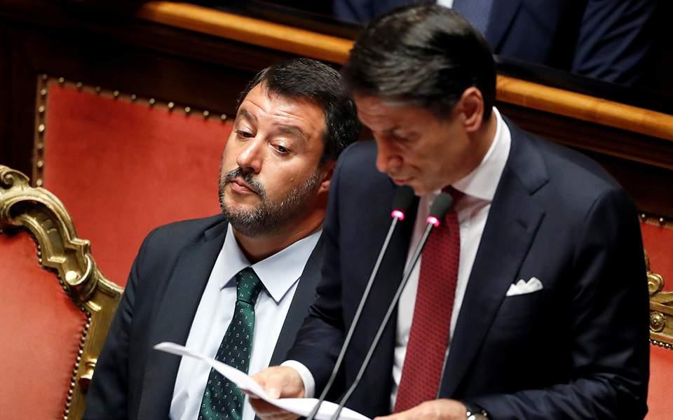 Πολιτική κρίση στην Ιταλία: Παραιτήθηκε ο πρωθυπουργός Κόντε