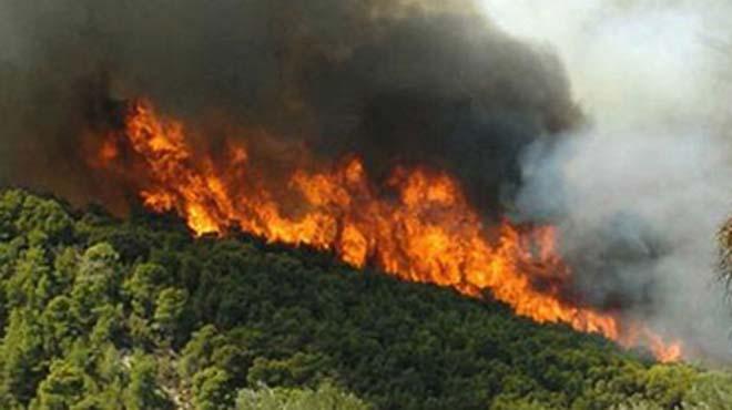 Πολύ υψηλός κίνδυνος πυρκαγιάς το Σάββατο στη Σάμο