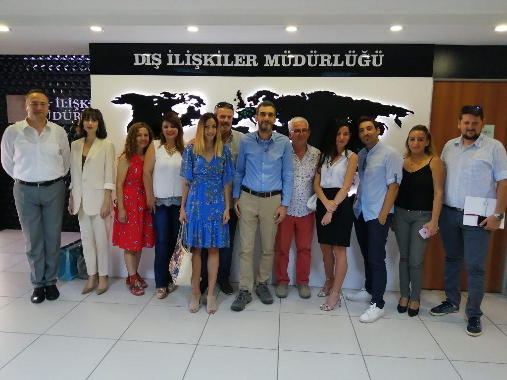 "O Δήμος Σάμου στην ευρεία σύσκεψη για την διοργάνωση του Φεστιβάλ ""Karsiyaka and Northern Aegean Islands""."