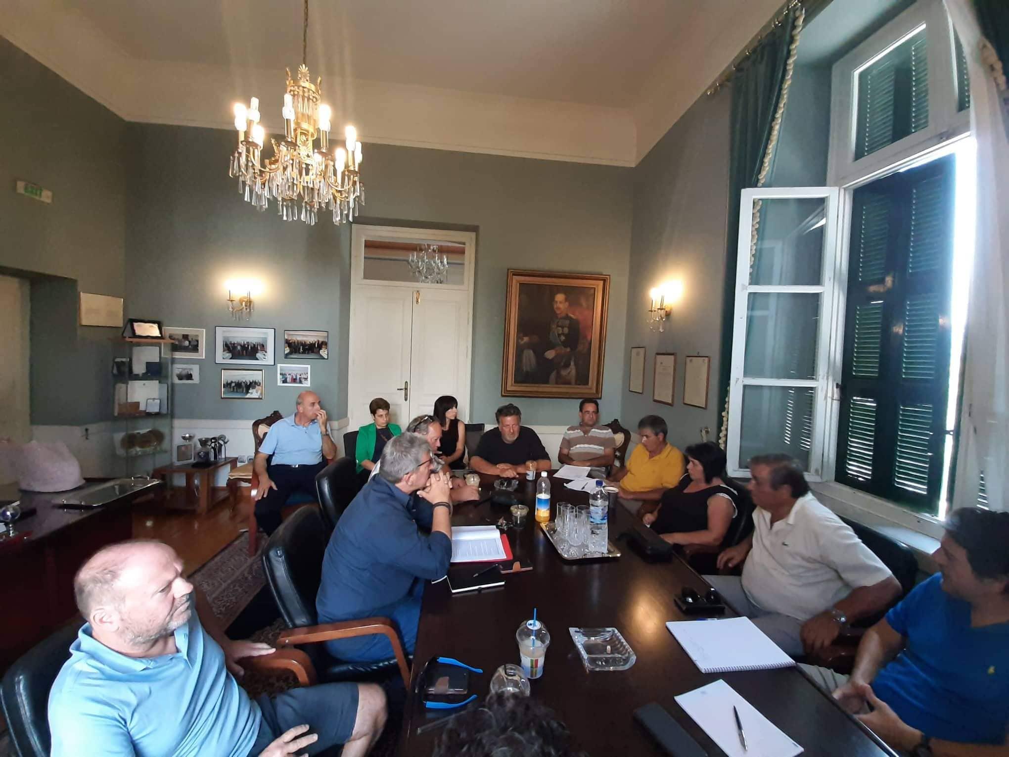 Συνάντηση προέδρων κοινοτήτων της Δημοτικής Ενότητας Βαθέος