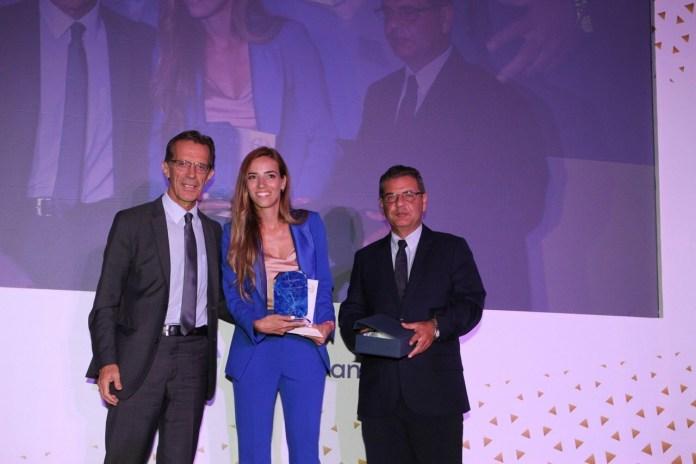 Τα επιχειρηματικά βραβεία «Θαλής ο Μιλήσιος» για την βράβευση της Αντωνιάδου