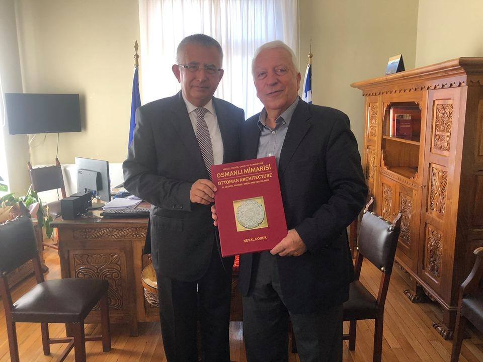 Συναντήσεις Κώστα Μουτζούρη με τον Γενικό Πρόξενο της Τουρκίας και τον Ακόλουθο Πολιτισμού στην Πρεσβεία της Γαλλίας