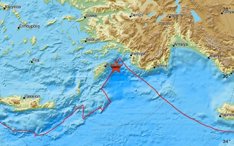 Σεισμός 5,1 Ρίχτερ στη Ρόδο – «Δεν συνδέεται με το ρήγμα της Ανατολίας», δήλωσε ο Ευ. Λέκκας