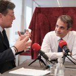 Κυρ. Μητσοτάκης στο Politico: Φτάνουμε στα όρια μας στο προσφυγικό – Χρειαζόμαστε μεγαλύτερη Ευρωπαϊκή αλληλεγγύη