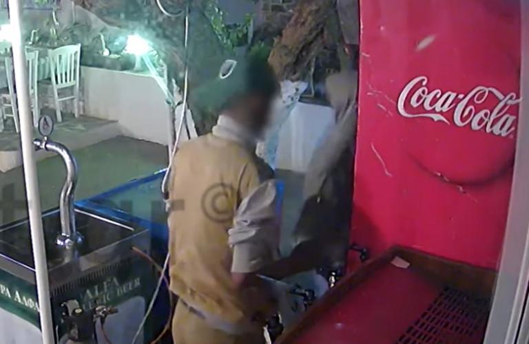 Η επιδρομή των 12 δευτερολέπτων σε εστιατόριο της Σάμου – Το βίντεο ντοκουμέντο