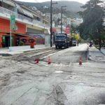 Ολοκληρώθηκε η αποκατάσταση του οδοστρώματος στην οδό Κανάρη στην πόλη της Σάμου