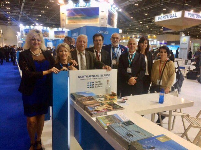 Στην παγκόσμια έκθεση τουρισμού στο Λονδίνο η περιφέρεια Βορείου Αιγαίου