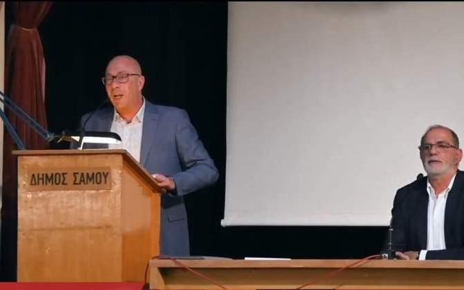 Παραιτείται ο δήμαρχος Ανατολικής Σάμου για την δημιουργία κλειστού κέντρου στο νησί (βίντεο)