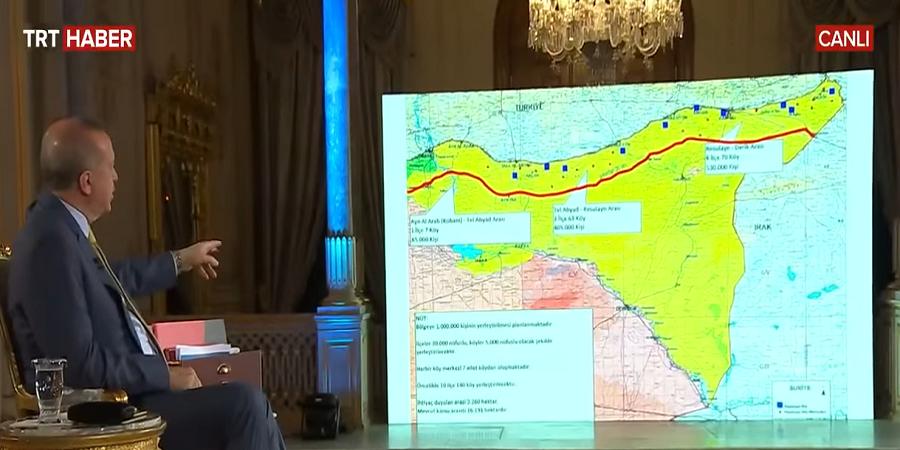 O Ερντογάν σε ρόλο παρουσιαστή προανήγγειλε έρευνες ανοιχτά της Κρήτης