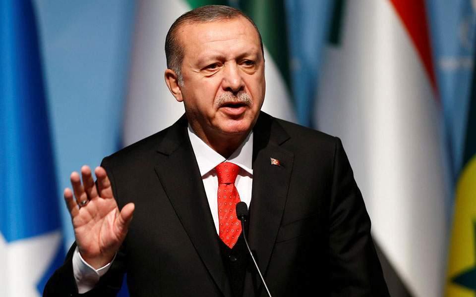 Προκαλεί πάλι ο Ερντογάν: Κρήτη και νησιά δεν έχουν υφαλοκρηπίδα