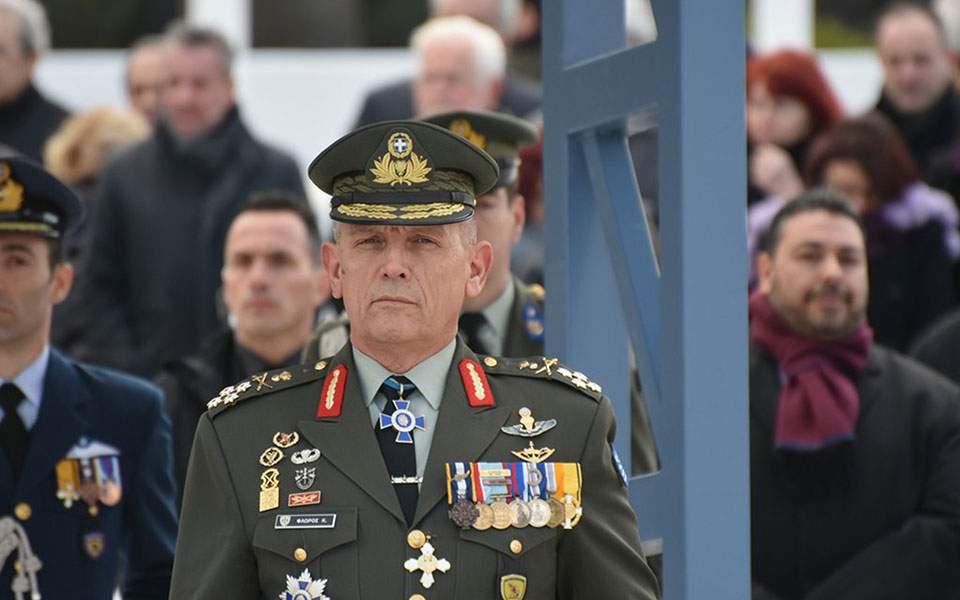 Νέος αρχηγός ΓΕΕΘΑ : Βασική και προεξάρχουσα αποστολή μας είναι η αποτροπή