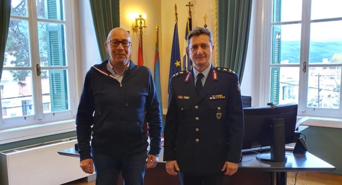 Συνάντηση Δημάρχου Ανατολικής Σάμου με το νέο Αστυνομικό Διευθυντή