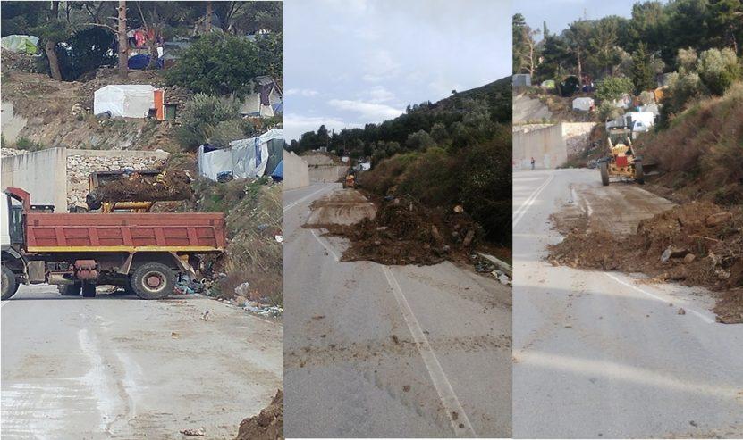 Απομάκρυνθηκαν μεγάλοι όγκοι απορριμμάτων παραπλεύρως της Περιφερειακής οδού