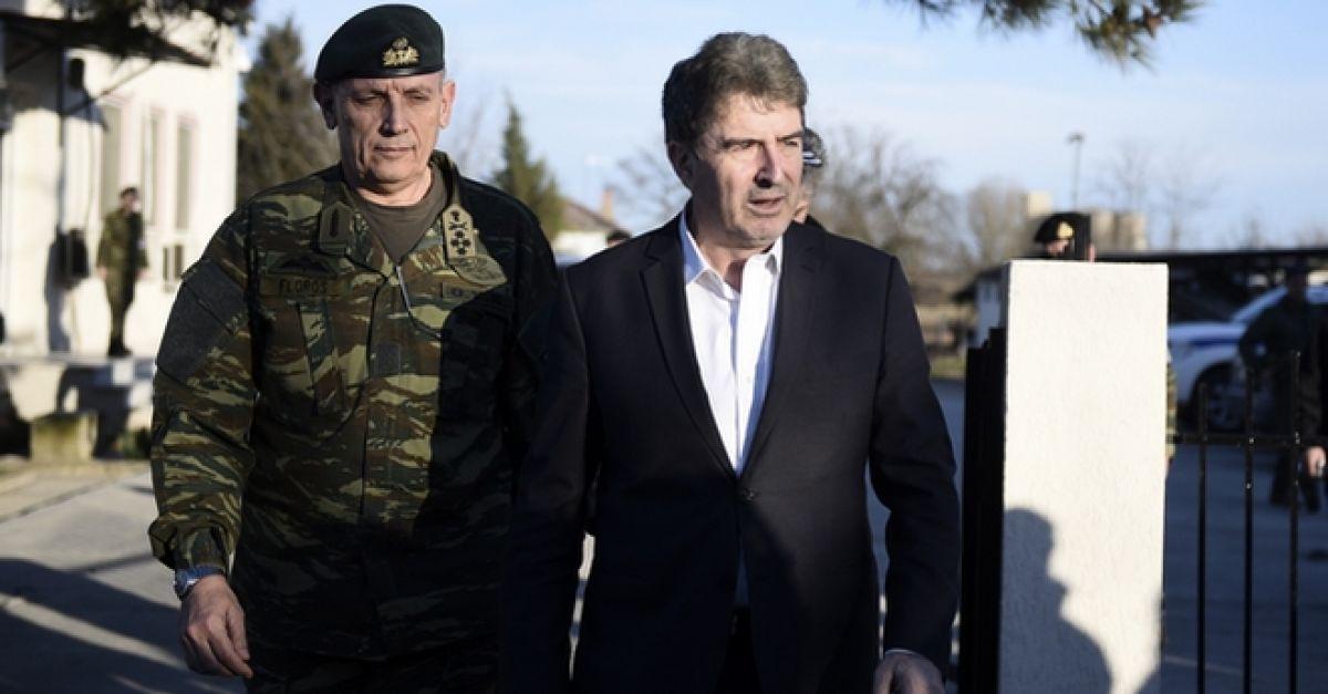 Στον Έβρο ο Μιχάλης Χρυσοχοΐδης – Ενισχύονται με 400 αστυνομικούς τα σύνορα